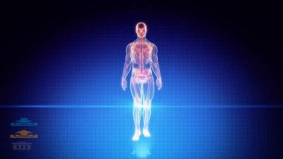 هولوگرام سه بعدی انسان